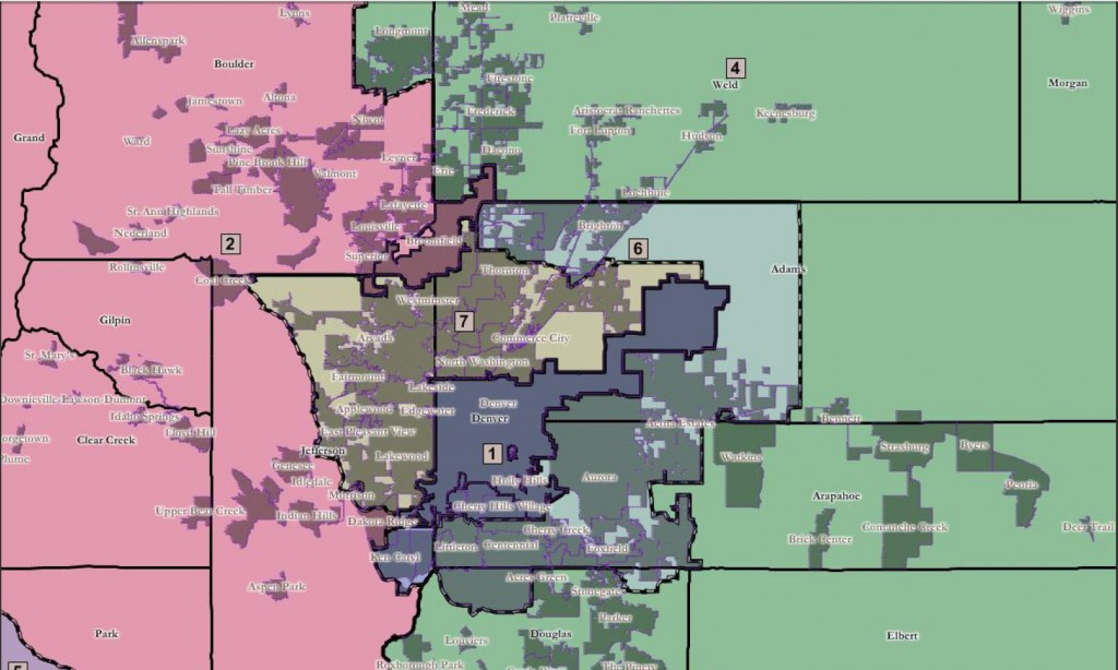 Colorado Congressional Redistricting Decision goes to the