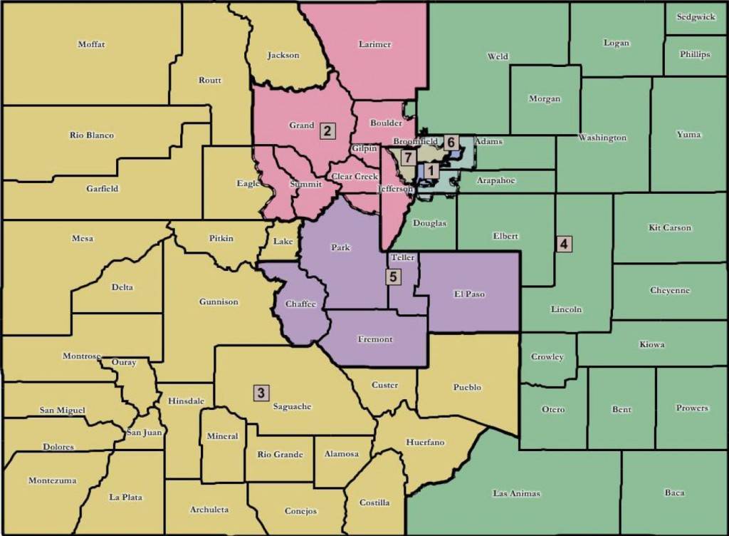 Colorado Congressional Redistricting Decision goes to the Dems ...